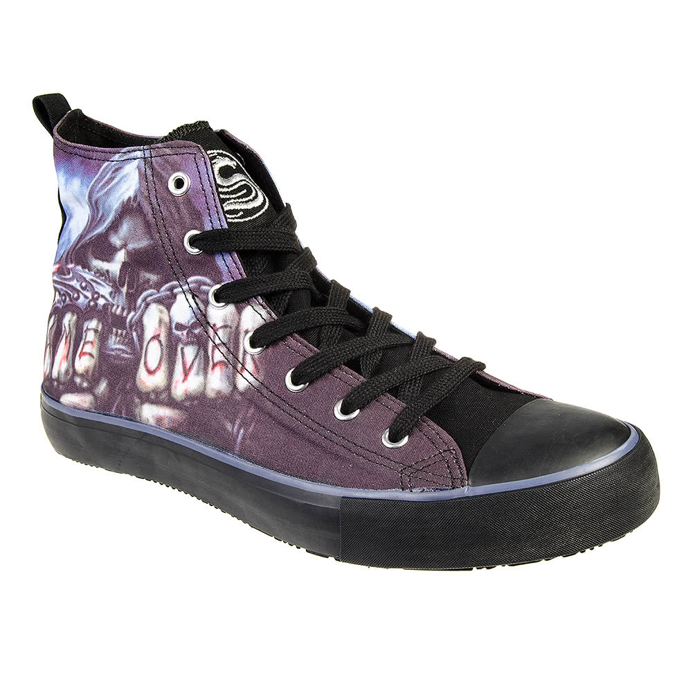 Spiral Direct Game Over High Tops (Black)