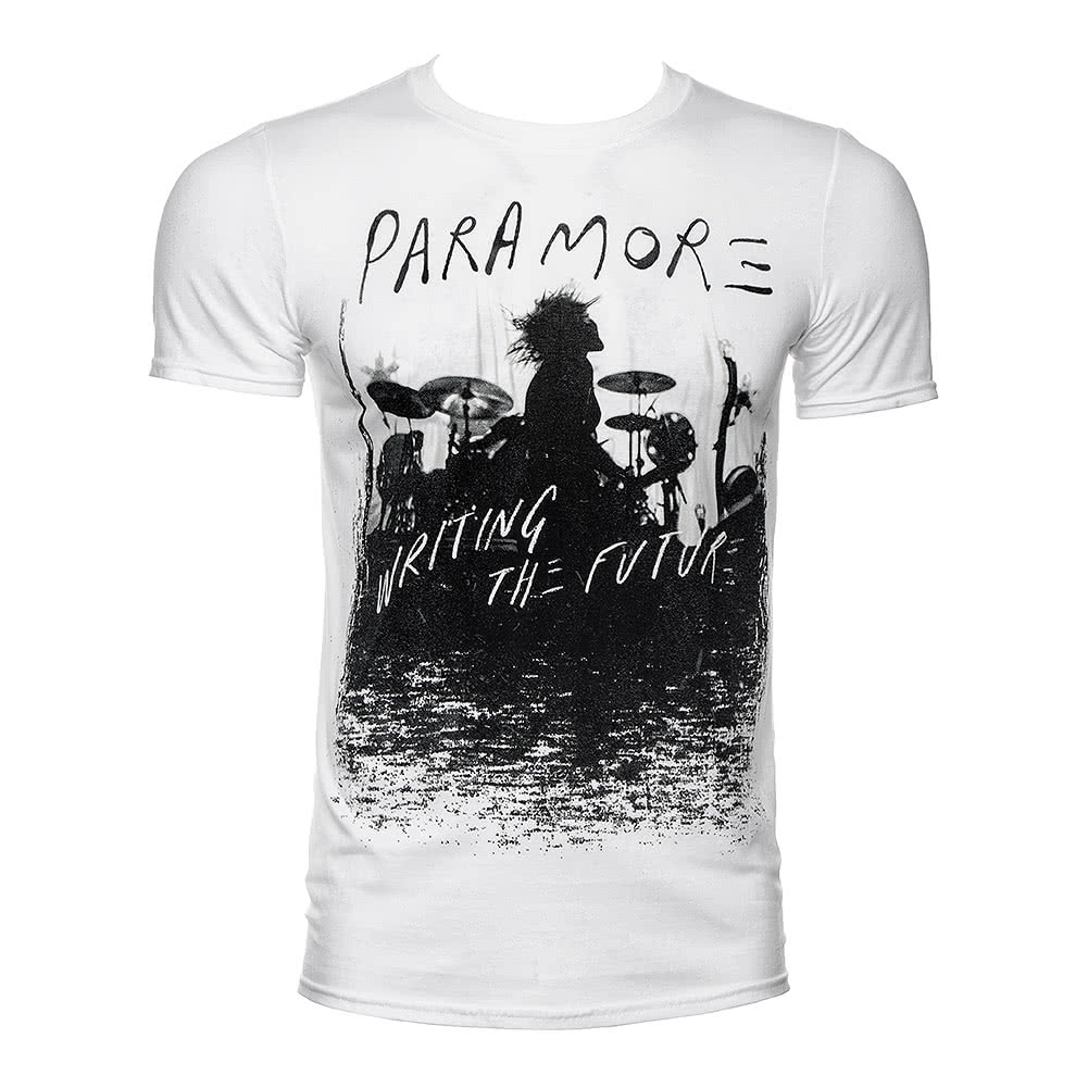 Paramore Unisex Future Silhouette White T Shirt, Official ... Paramore Mersch Nederland