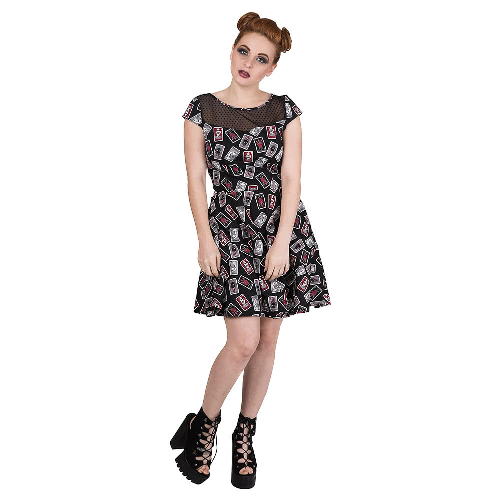 Banned Heavenly Creatures Dress (Black)