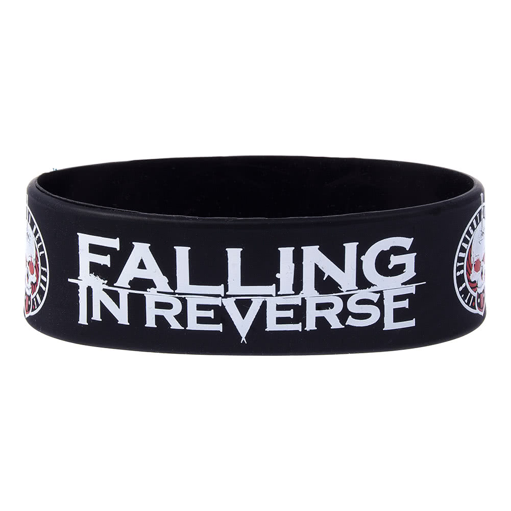 Official Falling In Reverse Straight To Hell Wristband (Black)