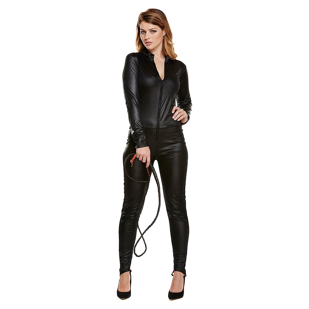 Blue Banana Catsuit Fancy Dress (Black)