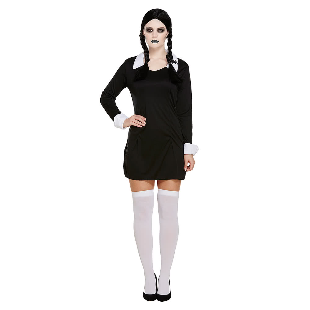 Blue Banana Scary Daughter Fancy Dress Costume (Black/White)