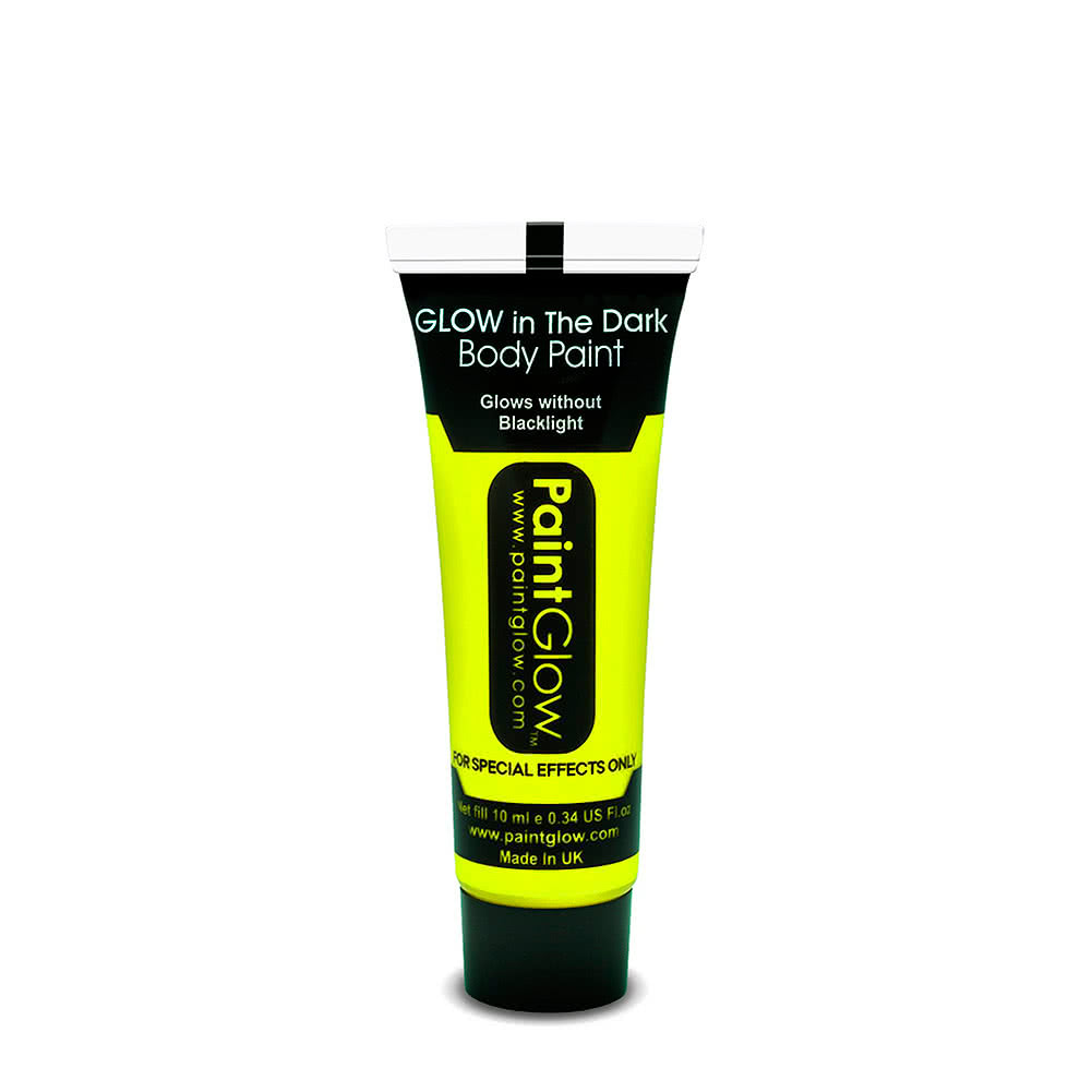 Paintglow Glow in the Dark Body Paint 10ml (Yellow)