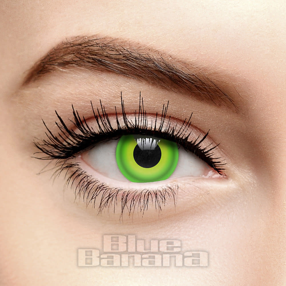 Hulk 30 Day Coloured Contact Lenses (Green)