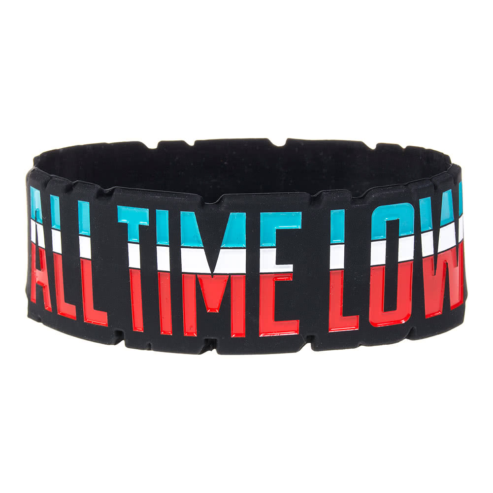 Official All Time Low Baltimore Wristband (Black)