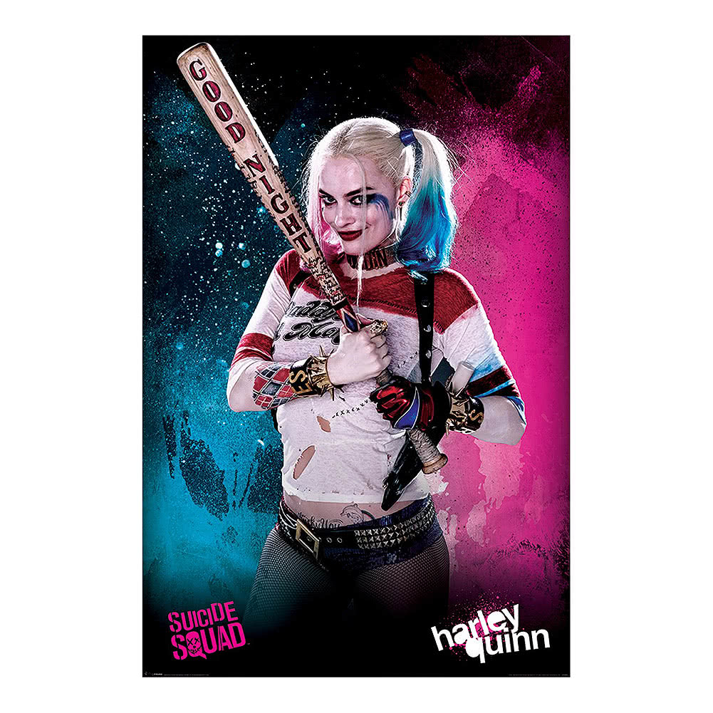 Poster Harley Quinn Suicide Squad (Multicolore)