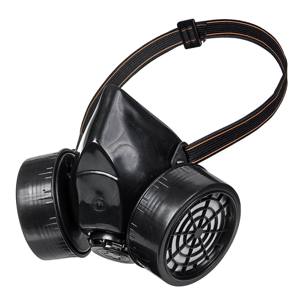 Blue Banana Double Vent Gas Mask (Black)