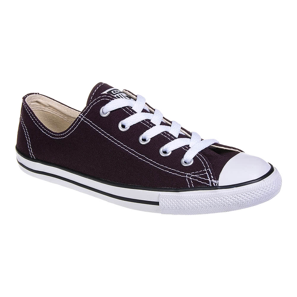 Converse All Star Dainty Shoes (Black Cherry)