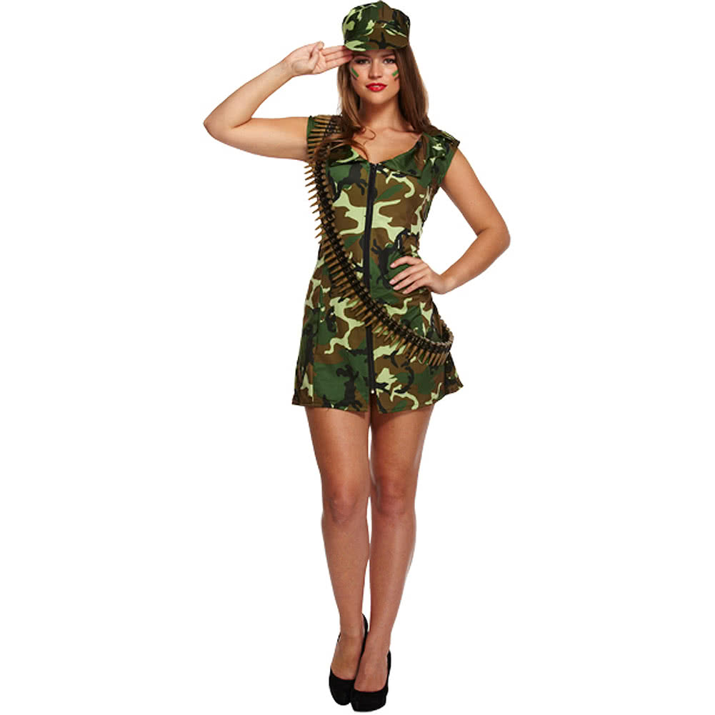 Sexy soldier halloween costume