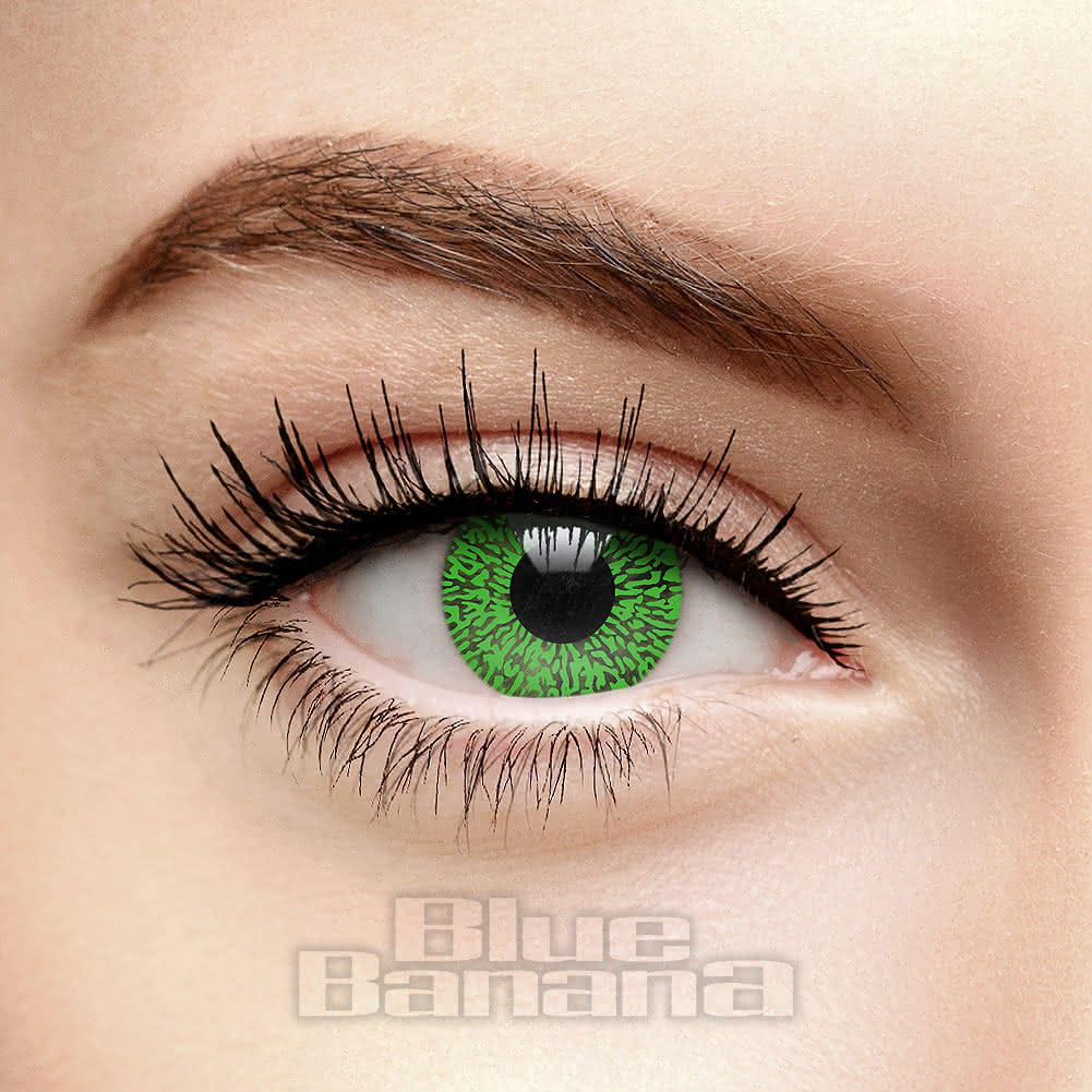 One Tone 1 Day Coloured Contact Lenses (Green)