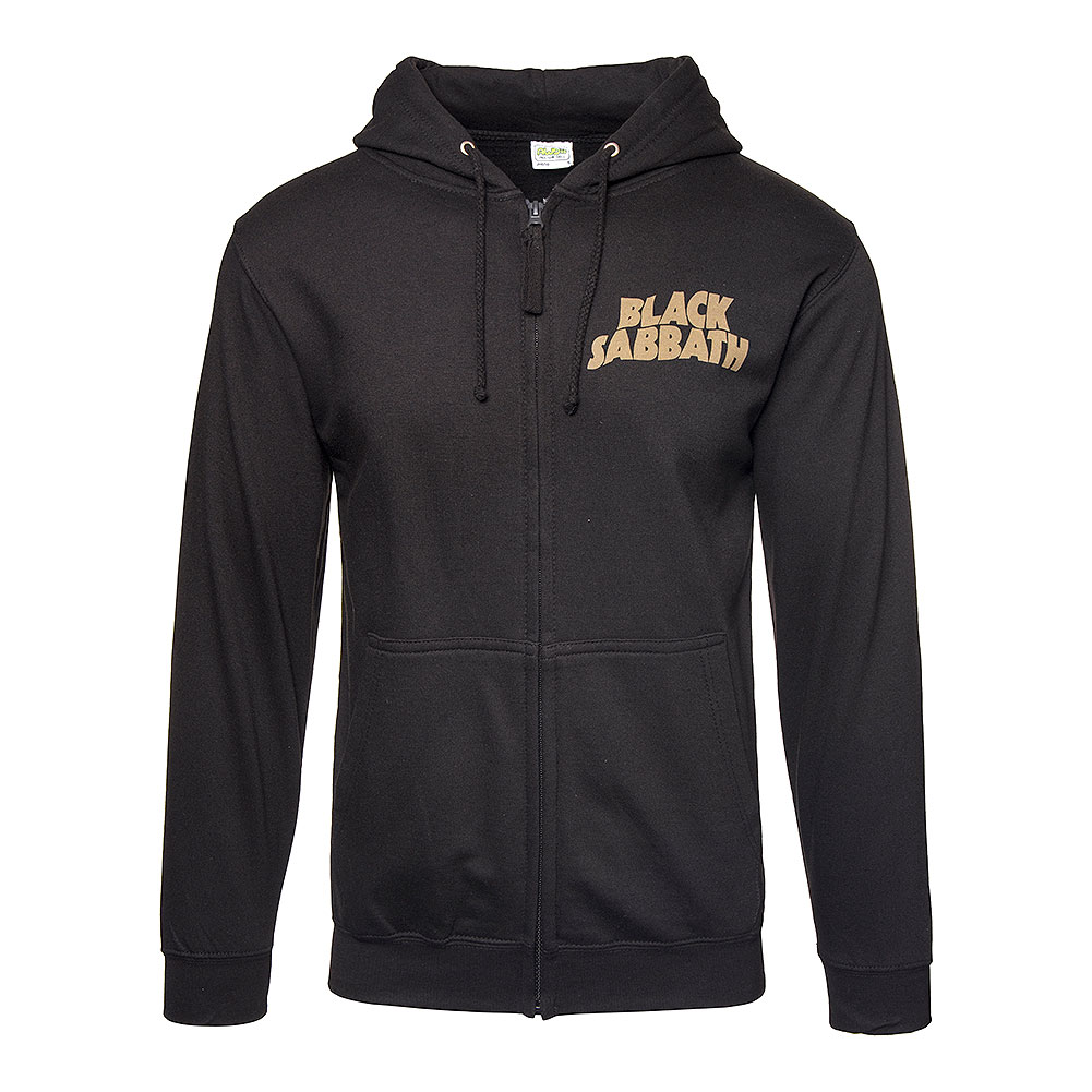 Official Black Sabbath 1978 Tour Hoodie (Black)