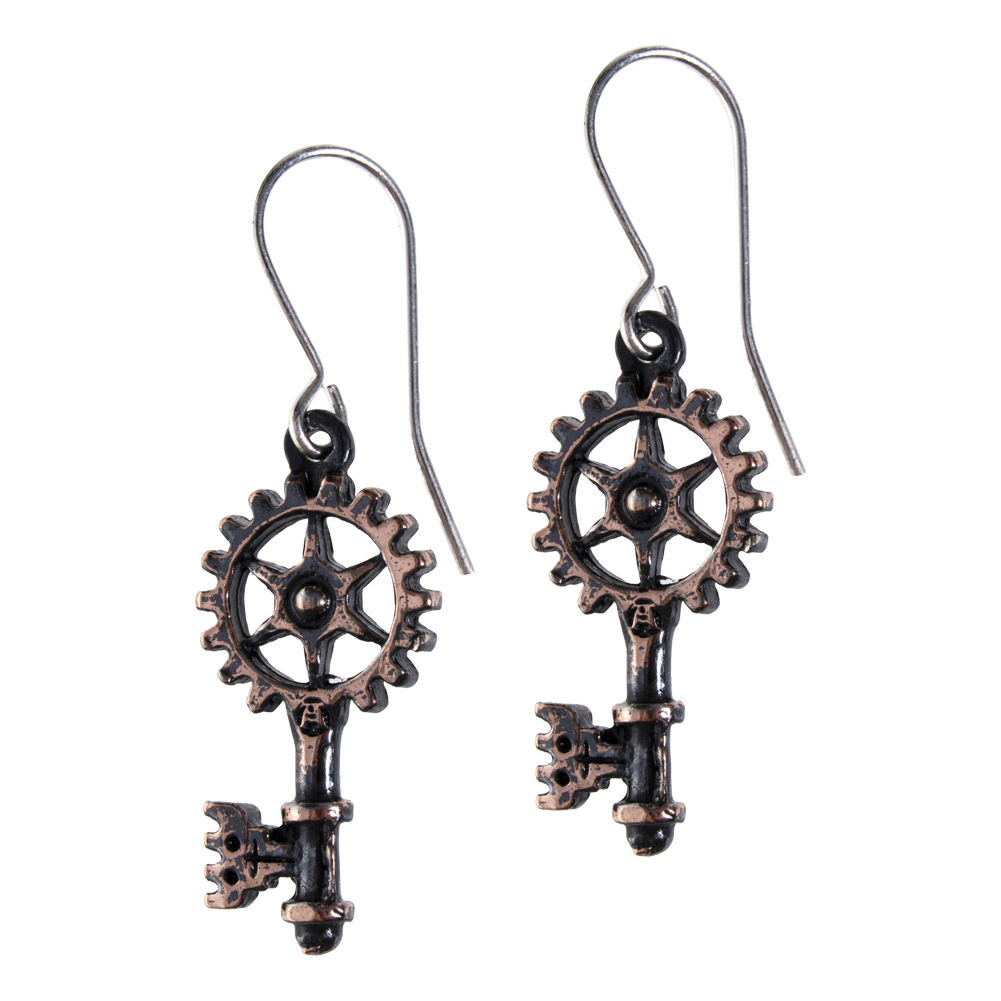 Alchemy Gothic Clavitraction Earrings