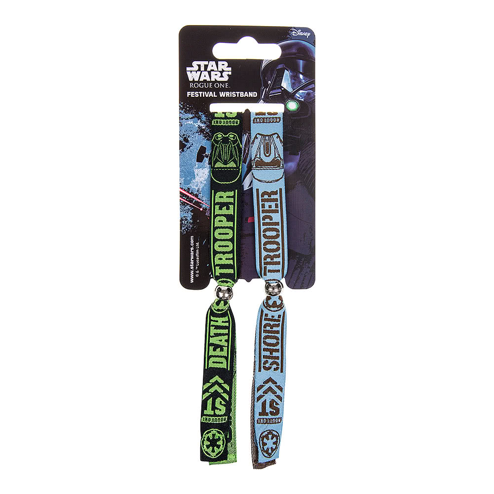 Star Wars Rogue One Empire Fabric Wristbands (Multicoloured)