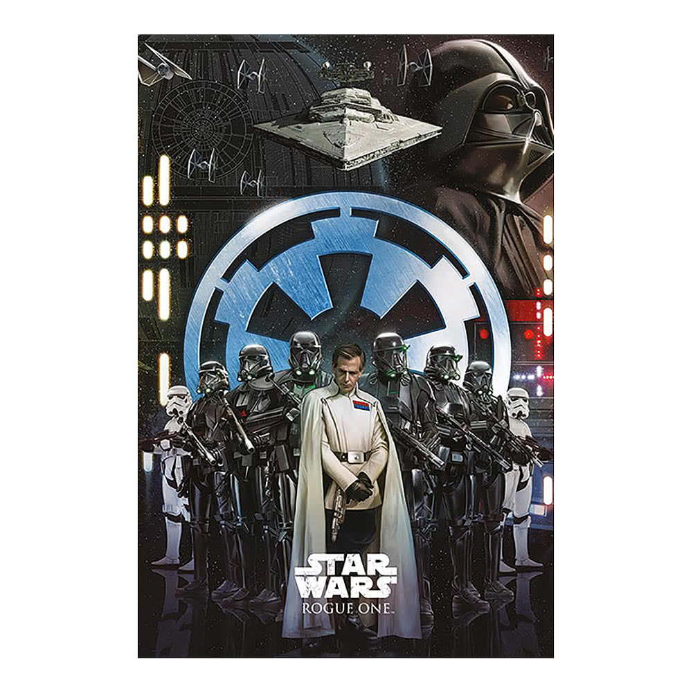 Star Wars Rogue One Empire Poster (Multicoloured)