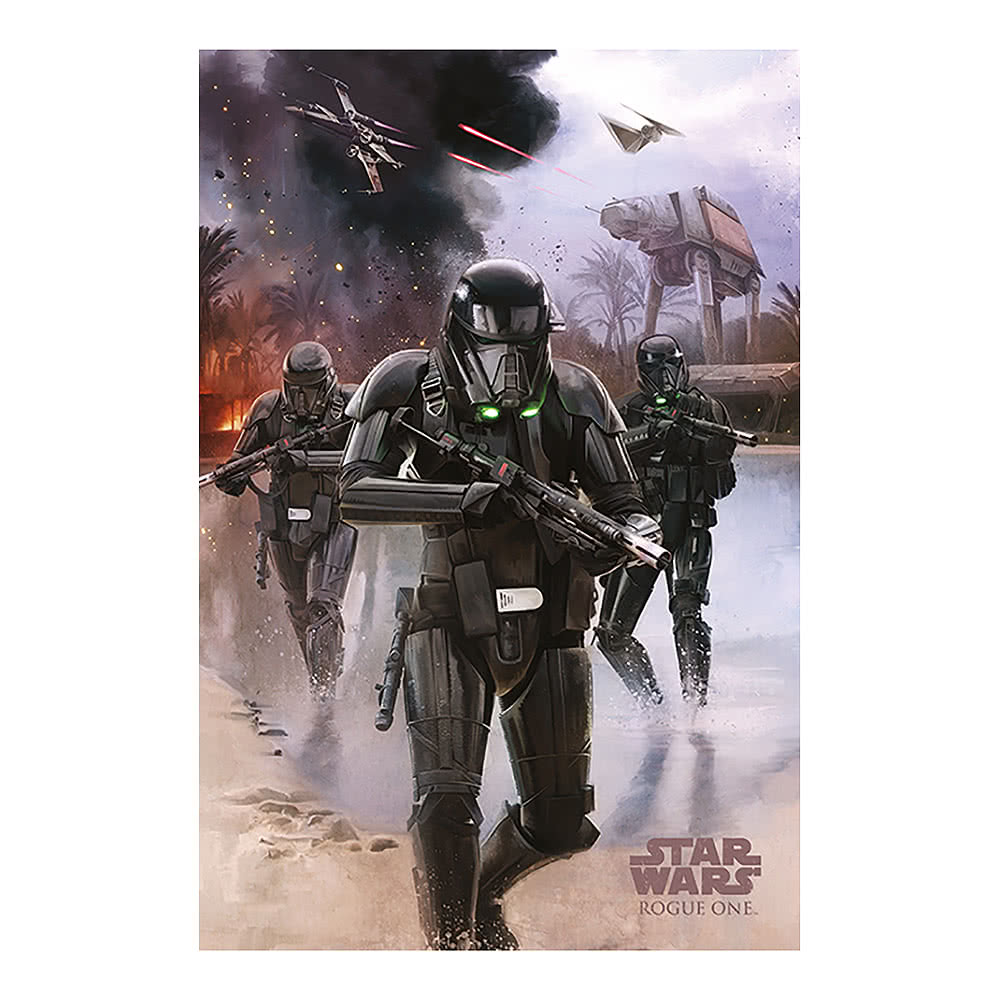 Star Wars Rogue One Death Trooper Beach Poster (Multicoloured)