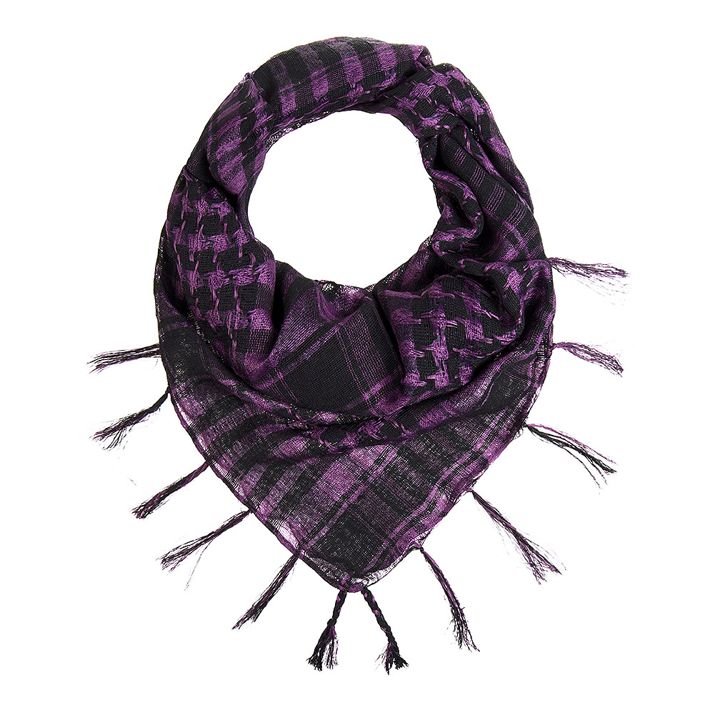 Blue Banana Checkered Tissu (Violet)