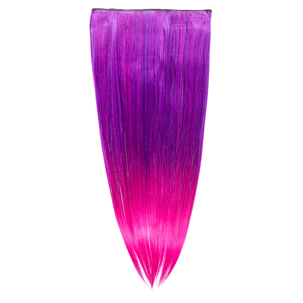 Blue Banana Purple Clip In Hair Extension Mystic Violet