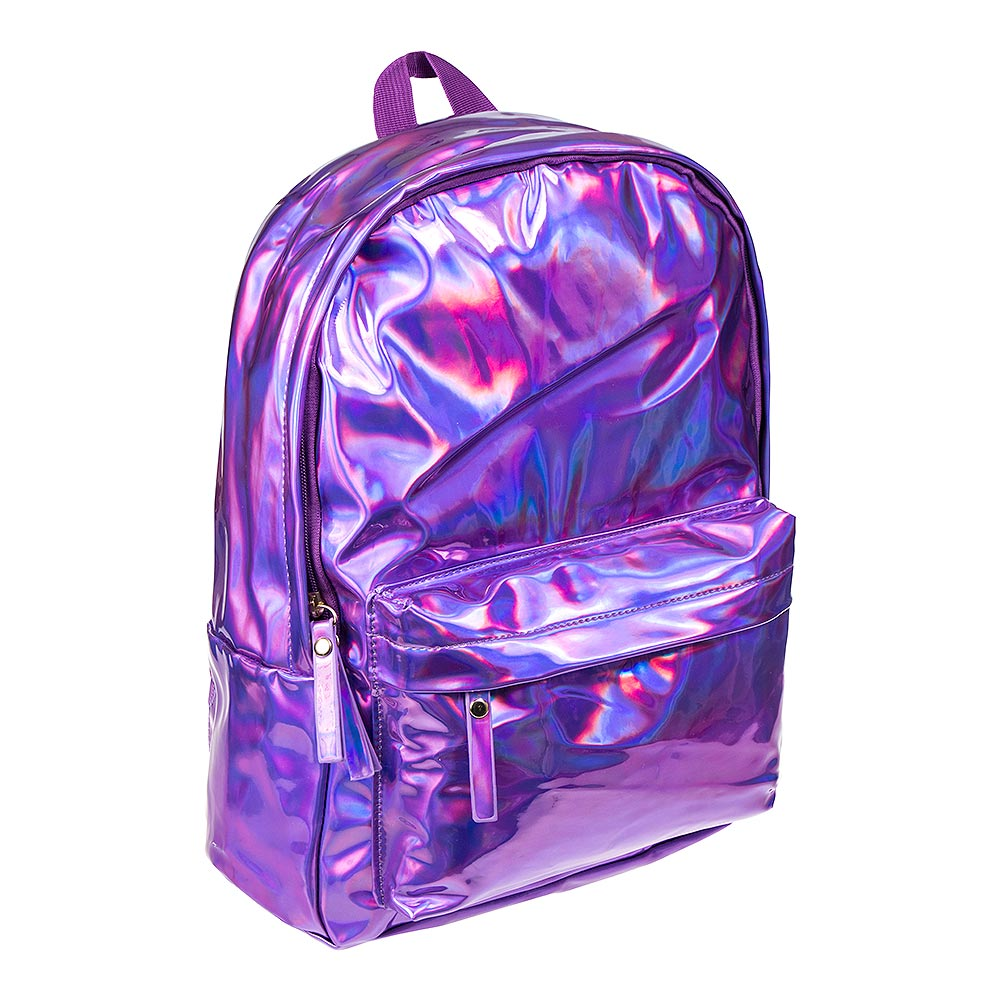 Blue Banana Holographic Backpack (Purple)