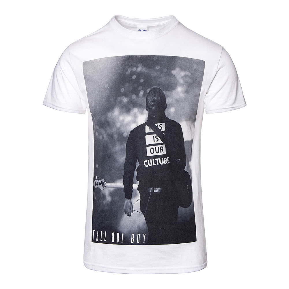 Official Fall Out Boy Our Culture T Shirt (White)