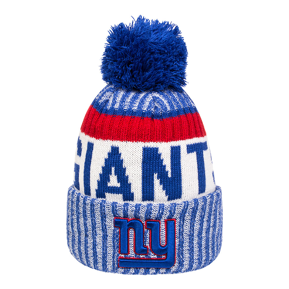 New Era Giants NFL Bobble Hat (Blue)