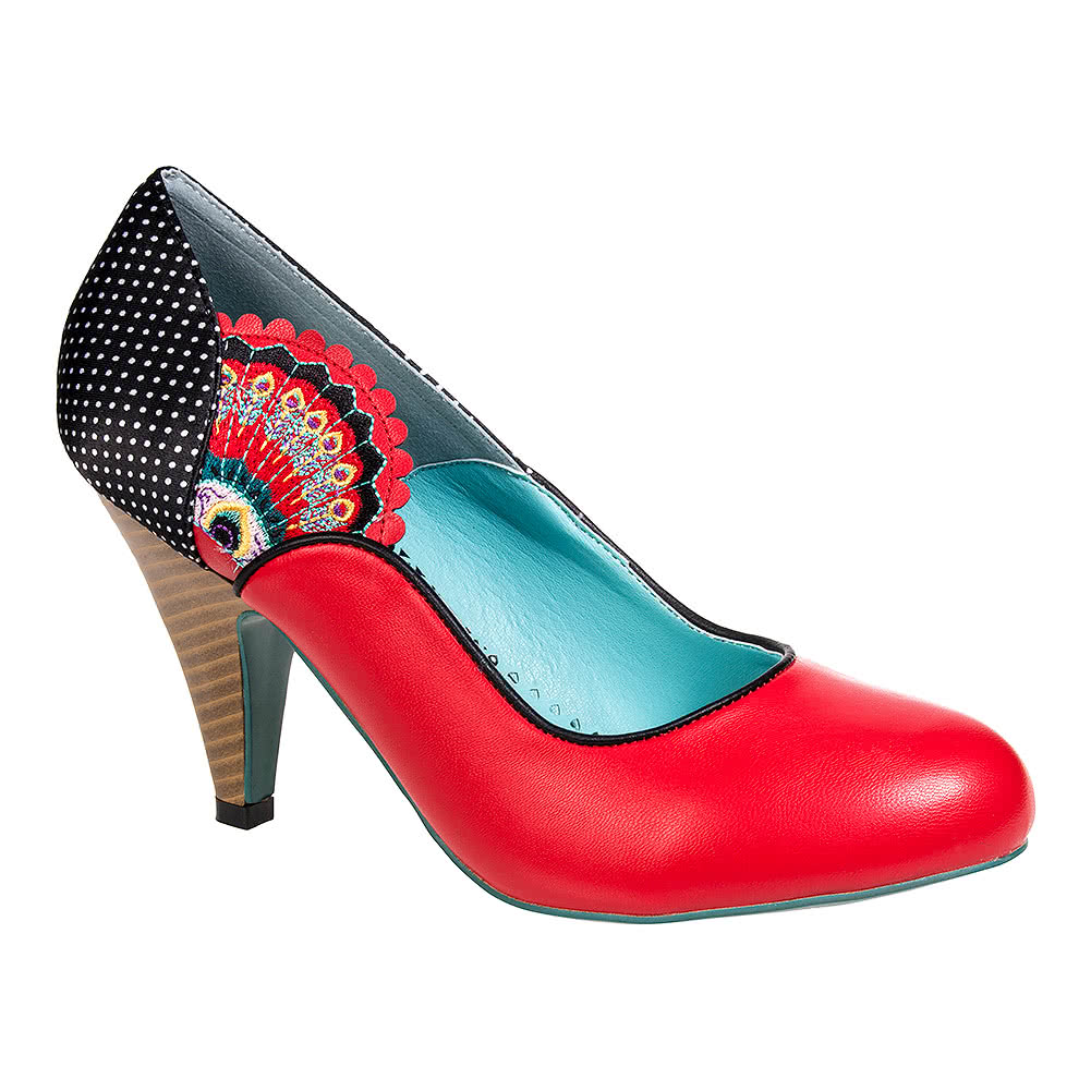 Banned Sway High Heeled Shoes (Red)