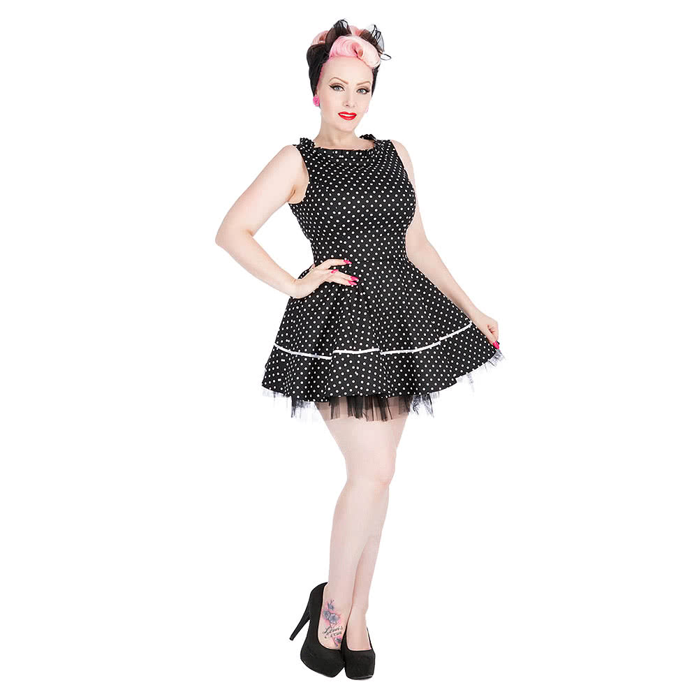 H&R Lucy Dress (Black/White)