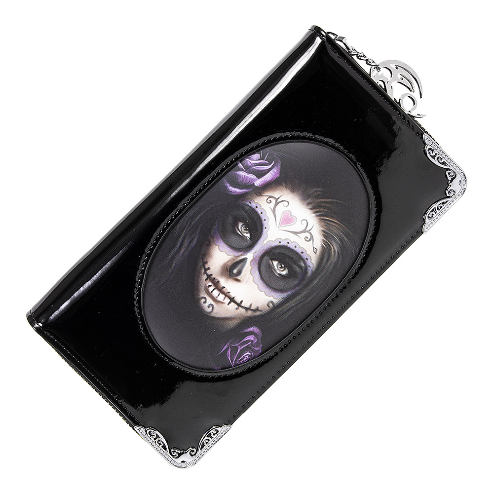 Anne Stokes Day Of The Dead 3D Purse (Black)