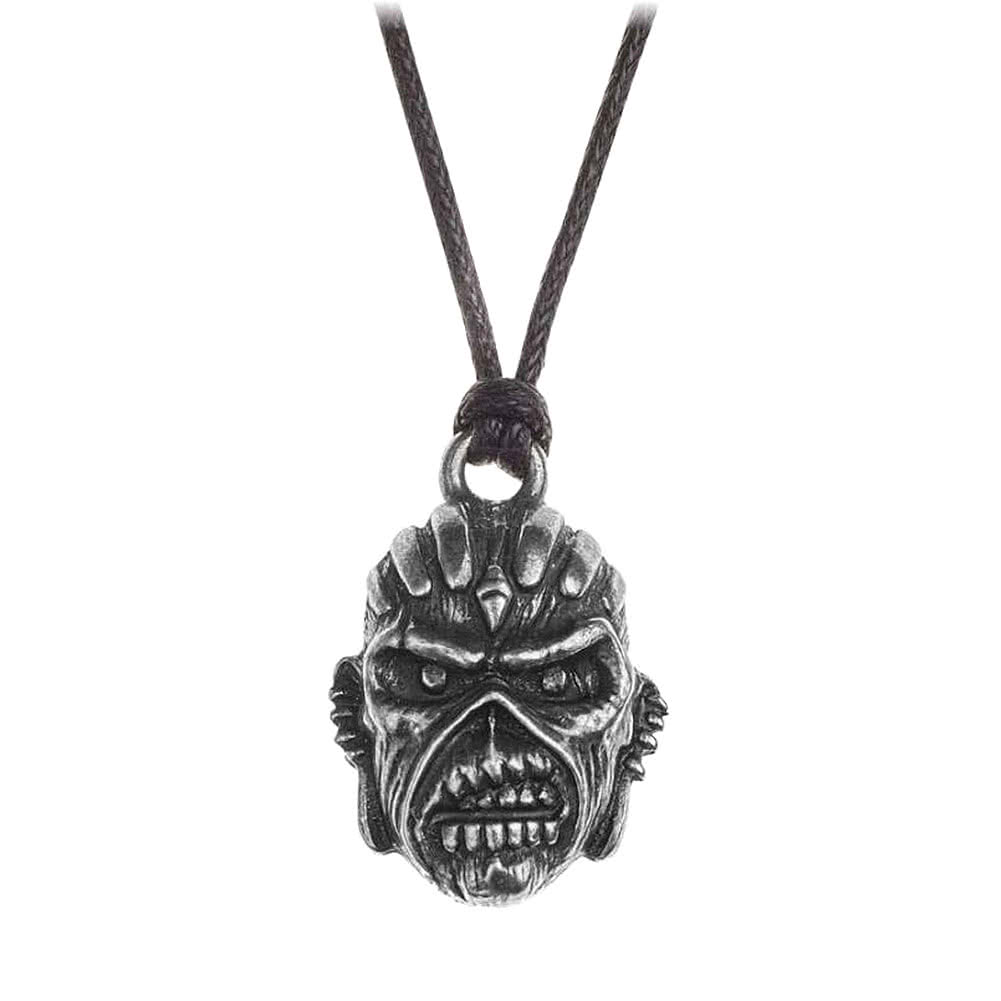 Alchemy Rocks Iron Maiden Book of Souls Pendant Necklace (Black/Silver)