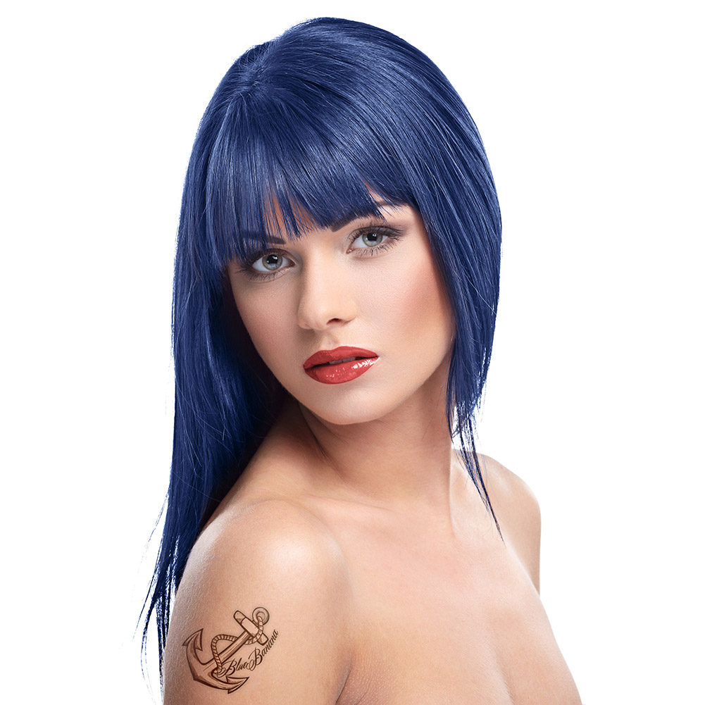 Herman's Amazing Semi-Permanent Hair Colour 115ml (Bella Blue)
