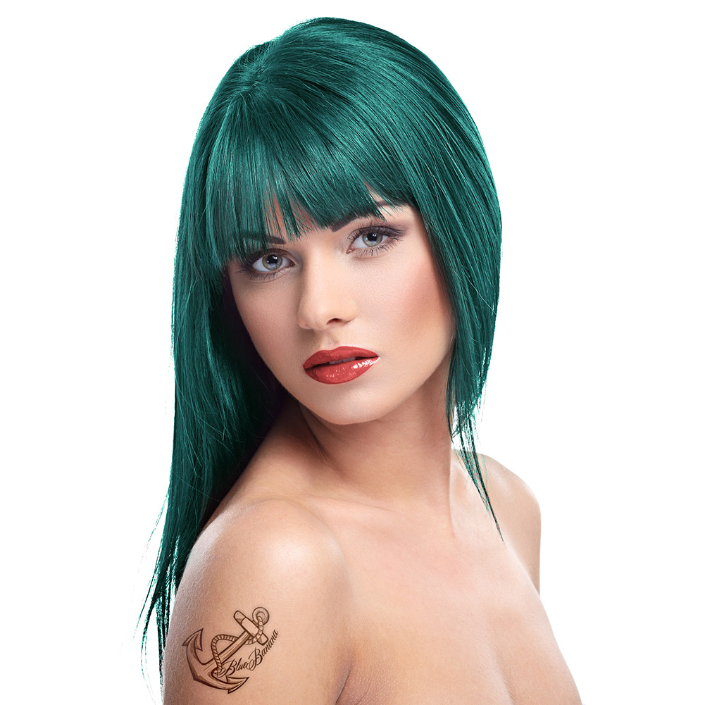 Herman's Amazing Semi-Permanent Hair Colour 115ml (Tammy Turquoise)