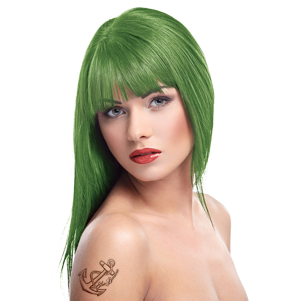 Herman's Amazing Semi-Permanent Hair Colour (Olivia Green)