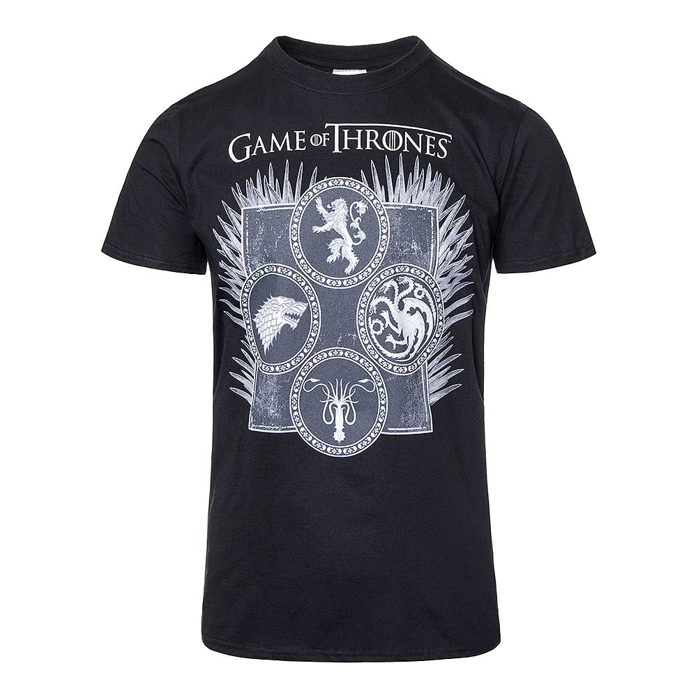 Game of thrones dagger throne black unisex t shirt pop for Game t shirts uk