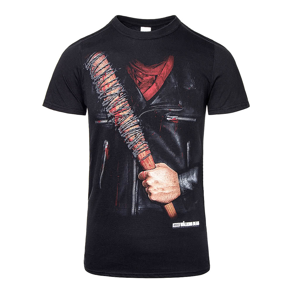 The walking dead negan costume black t shirt unisex t shirts for Costume t shirts online