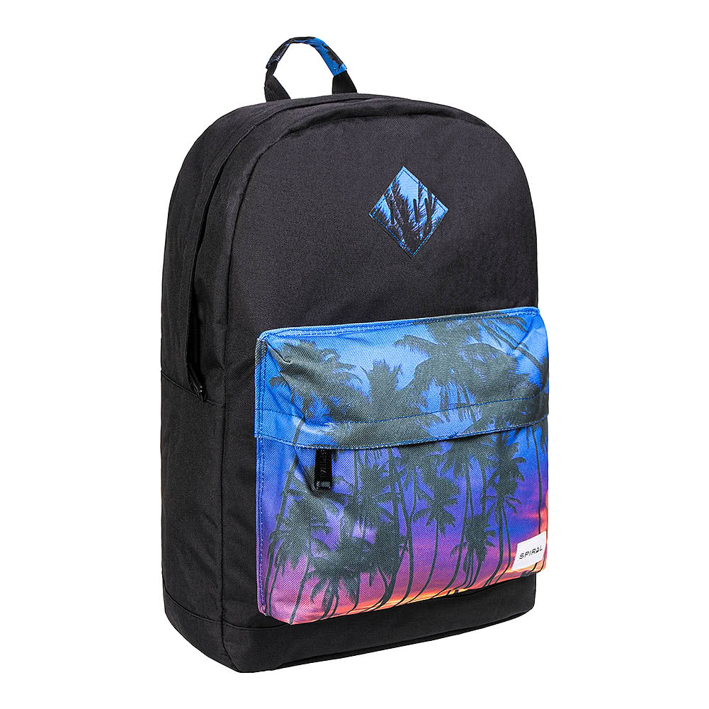 Spiral Miami Pocket OG Backpack (Black)