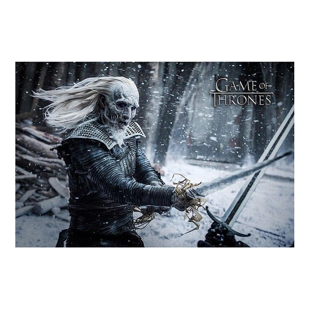 Maxi poster Game of Thrones Blanc Walker, bois, multicolore