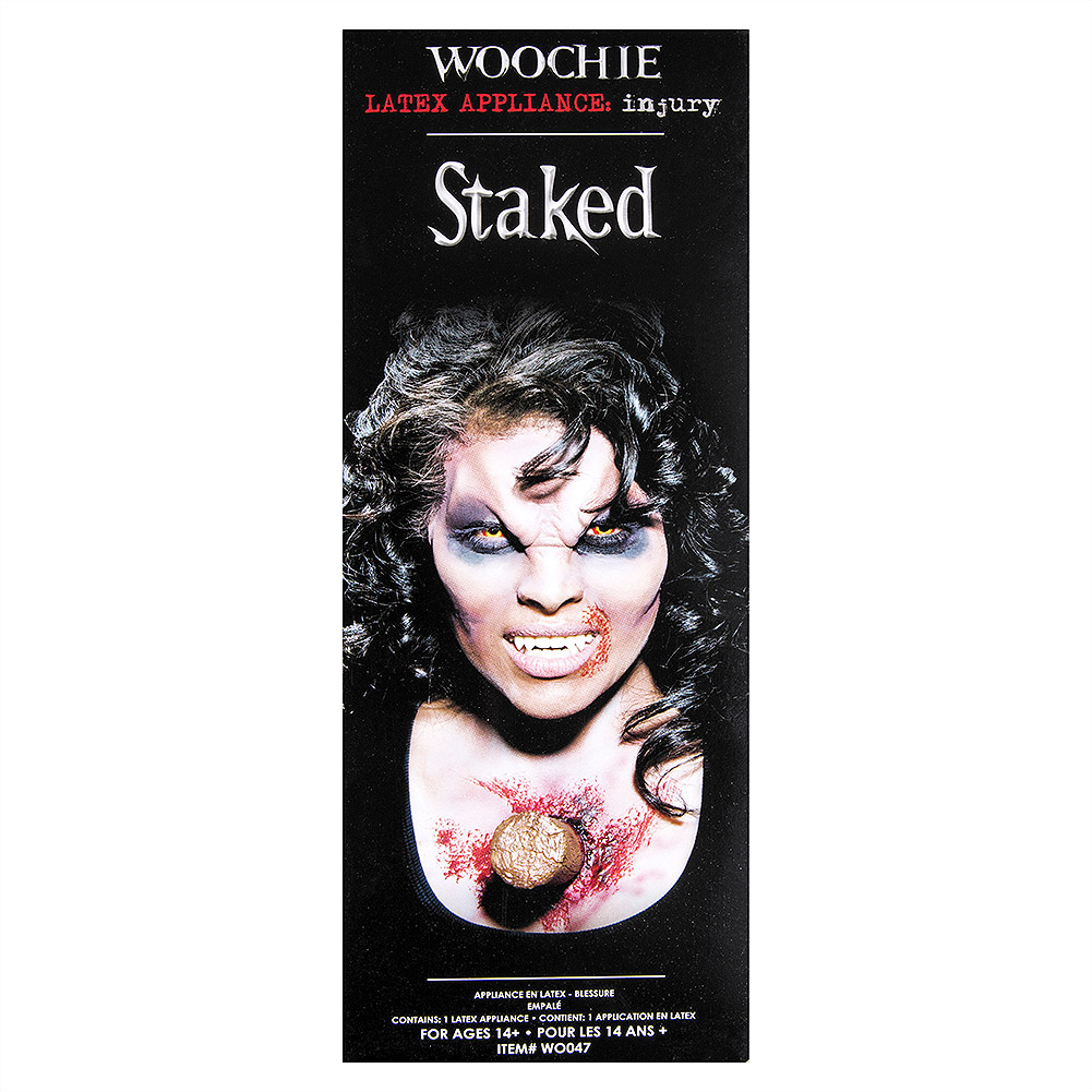 Woochie Staked Latex Prosthetic