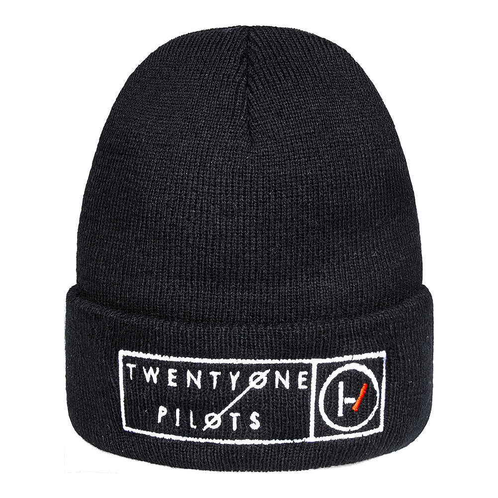 Official Twenty One Pilots Boxed Logo Beanie (Black)