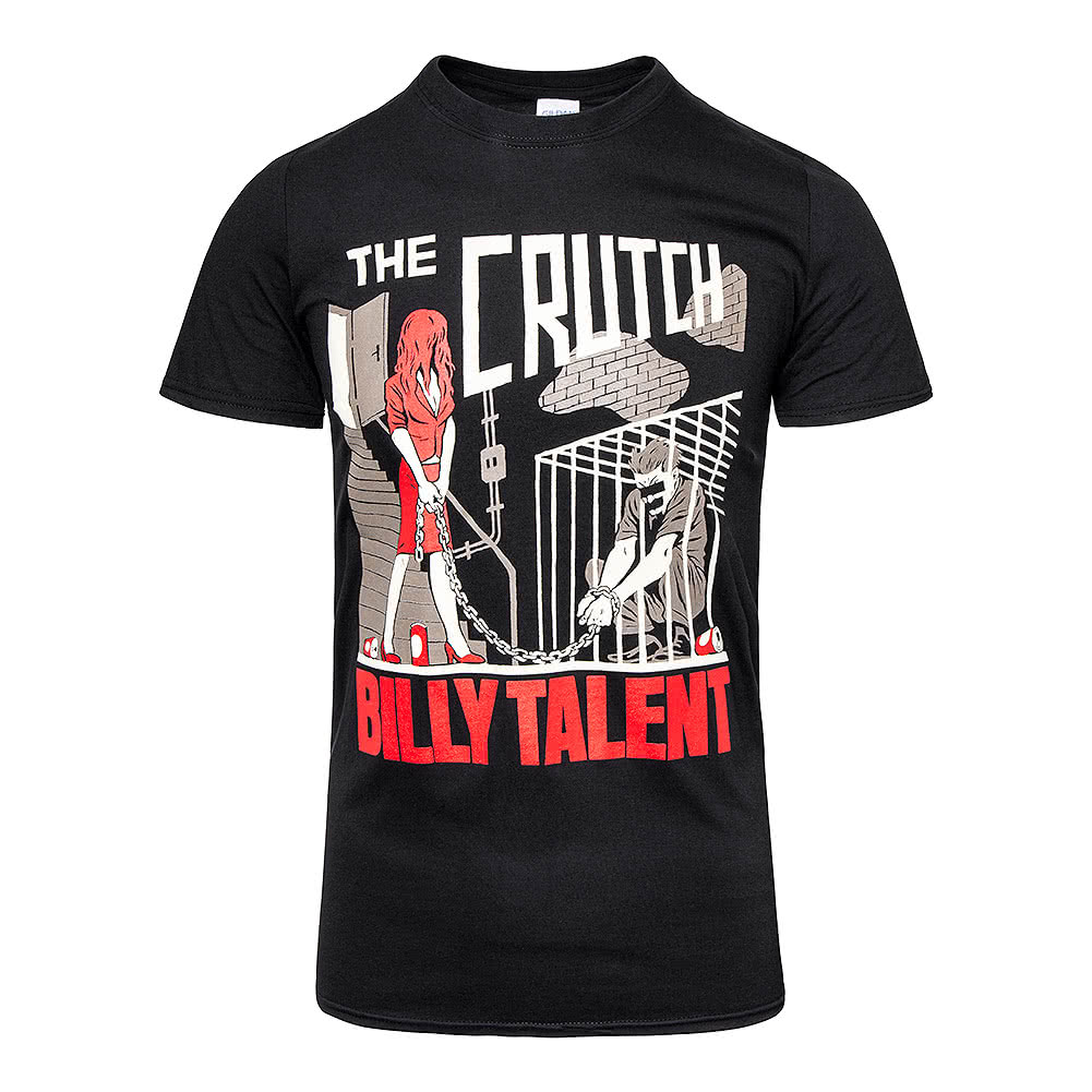 Official Billy Talent The Crutch T Shirt (Black)
