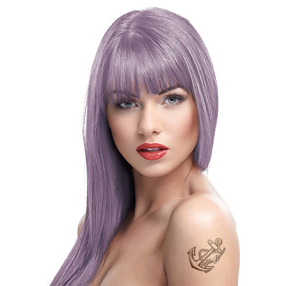 Crazy Color Semi Permanent Ice Mauve Hair Dye 100ml
