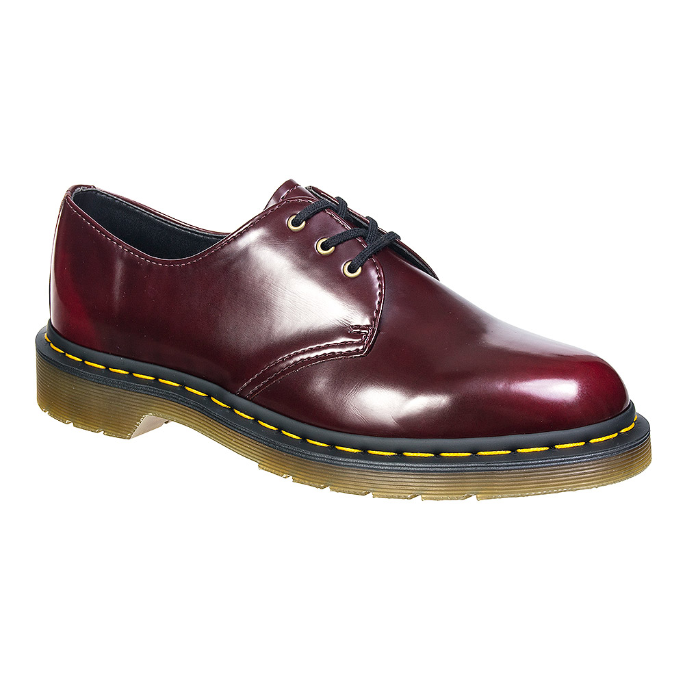 Dr Martens Vegan 1461 Shoes (Cherry Red)
