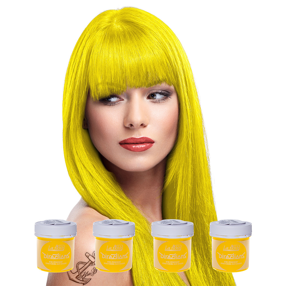 La Riche Directions Hair Dye 4 Pack 88ml (Fluorescent Glow)