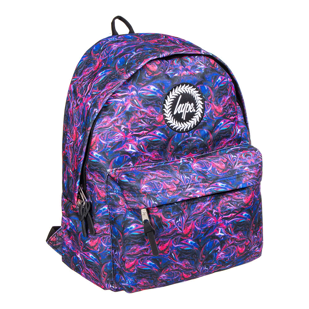 643a9f1a9596 Hype Paint Swirls Unisex Multicoloured Backpack