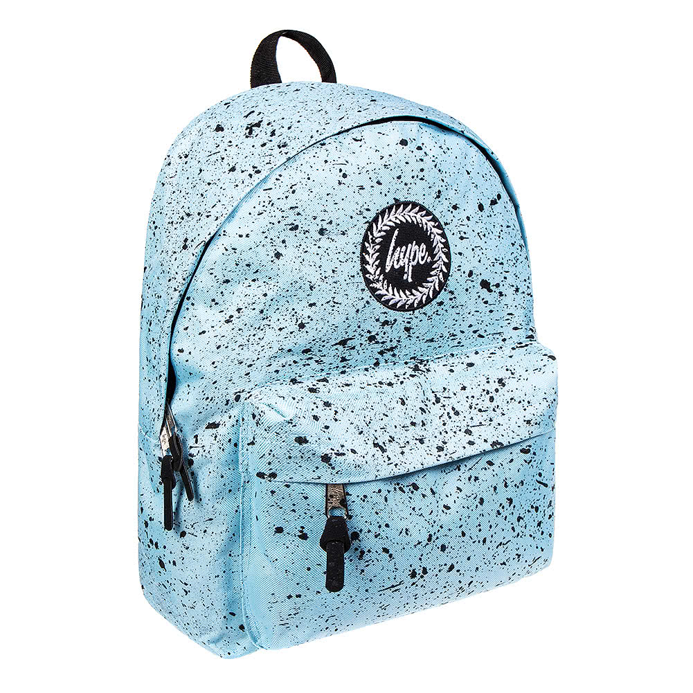 1a53c464c556 Hype Speckle Sky Blue Black Backpack