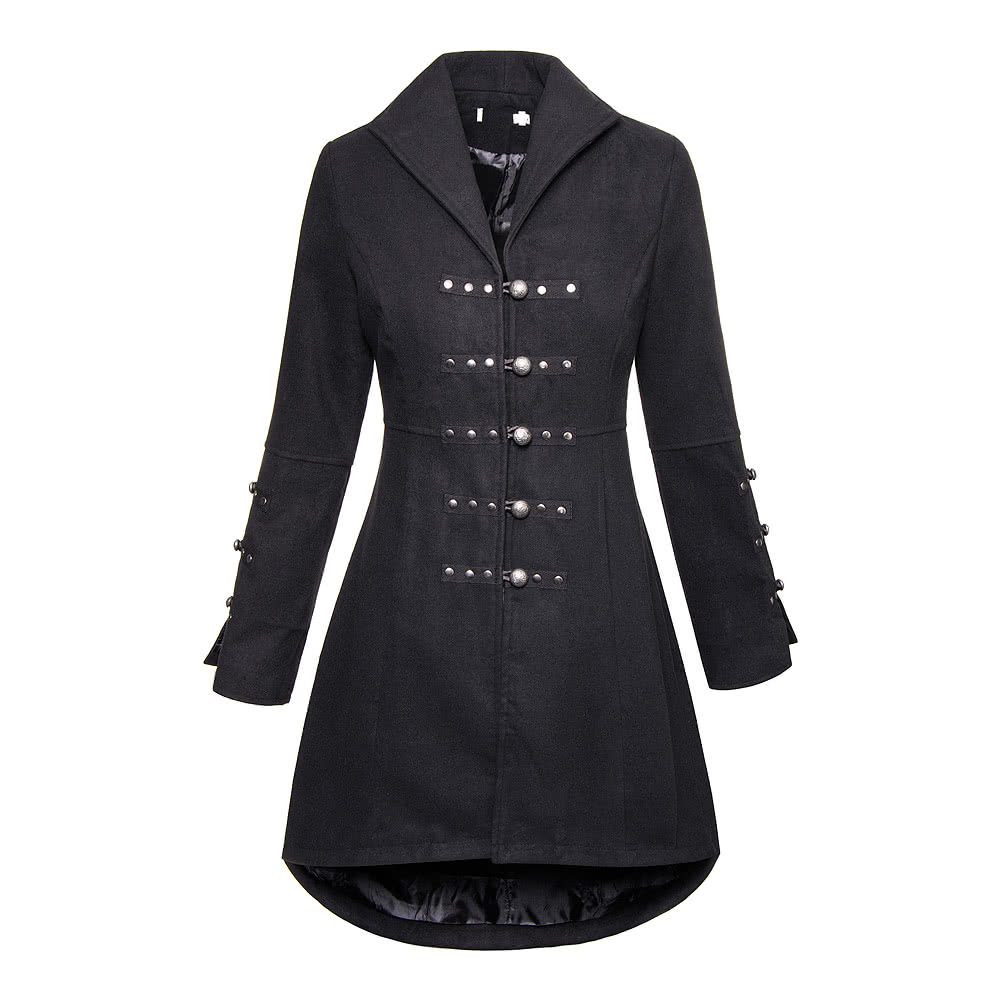 Bleeding Heart Reincarnation Coat (Black)