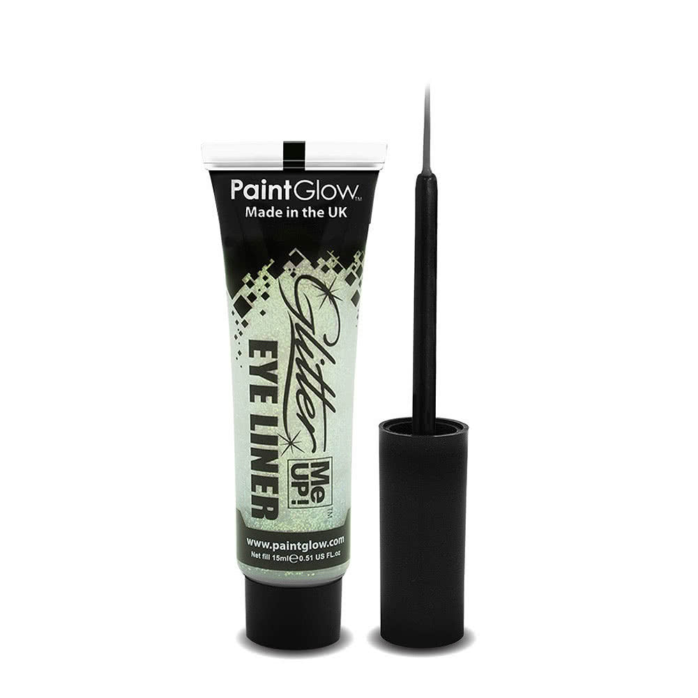 Paintglow Glitter Me Up Eyeliner (White)