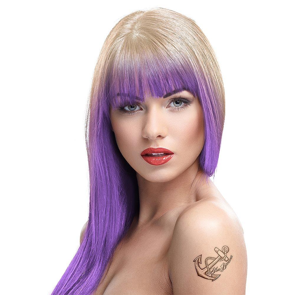 Crazy Color Temporary Pastel Hair Spray 250ml (Lavender)