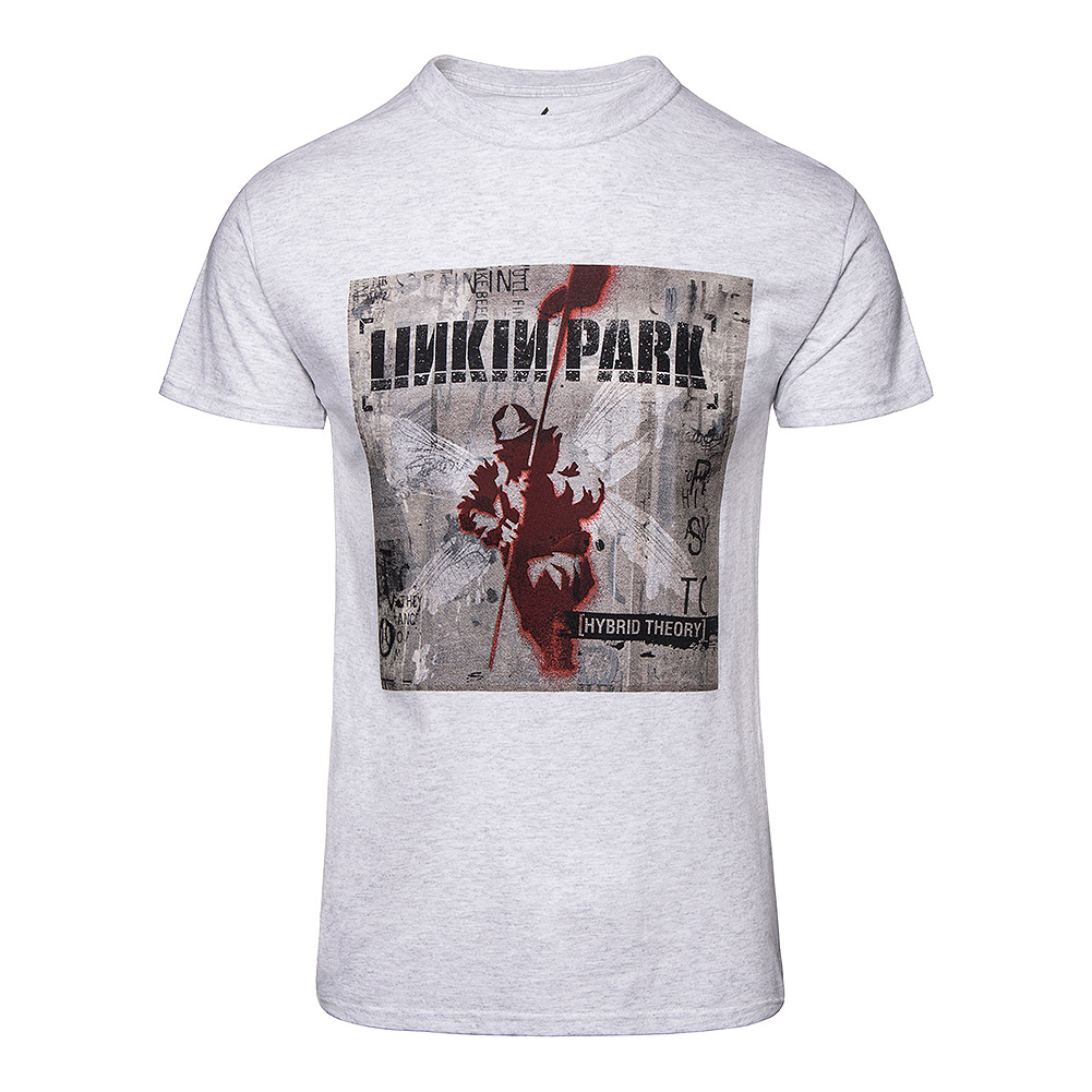 Official Linkin Park Hybrid Theory T Shirt Grey