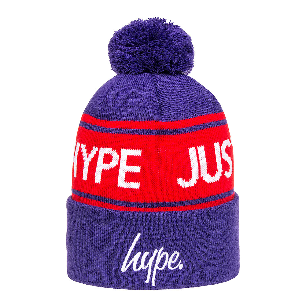 Hype Just Hype Beanie (Purple/Red)