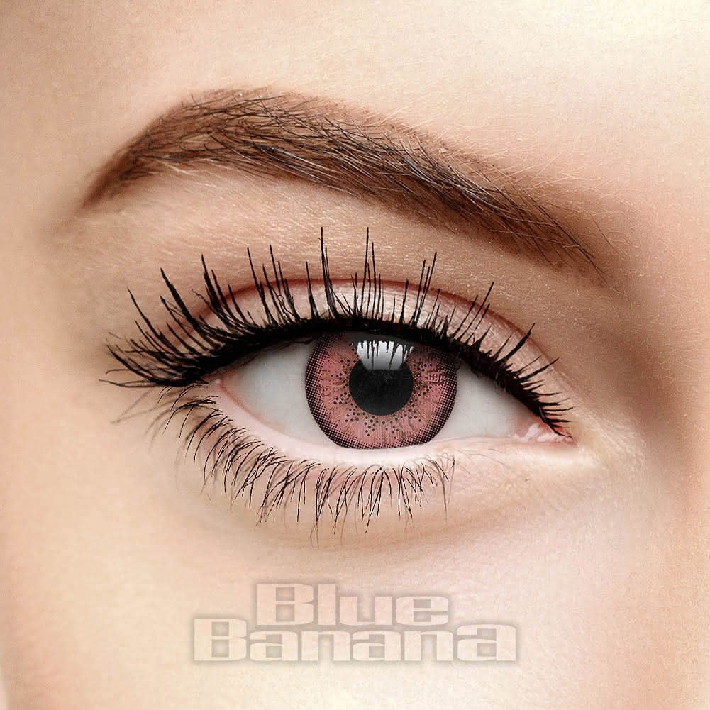 Two Tone 90 Day Coloured Contact Lenses (Hazel/Brown)