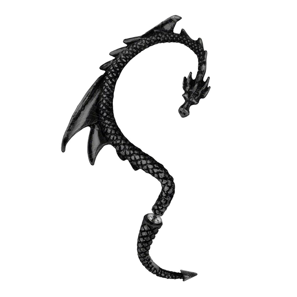 Alchemy Gothic Dragon's Lure Earring (Right)